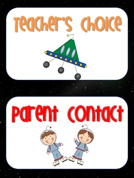 Mission Space Behavioral Chart