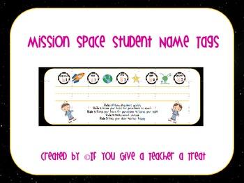 Mission Space Desktag Names