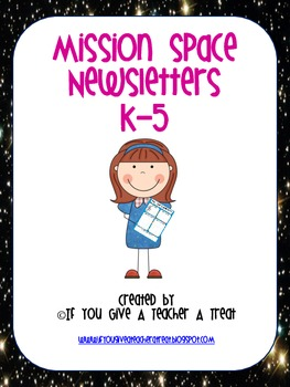 Mission Space Newsletters K-5