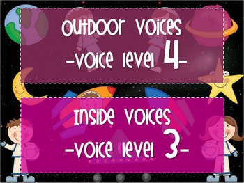 Mission Space Voice Levels