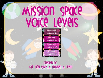 Mission Space Voice Levels