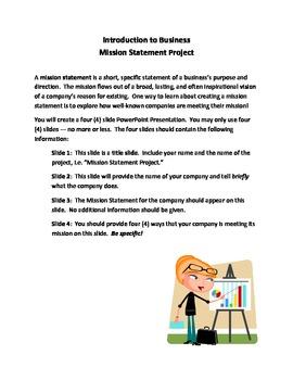 Mission Statement Project