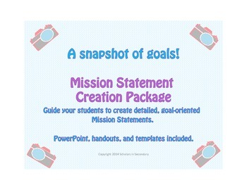 Mission Statement and Goal Setting Activity