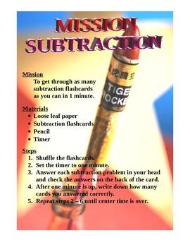 Mission Subtraction