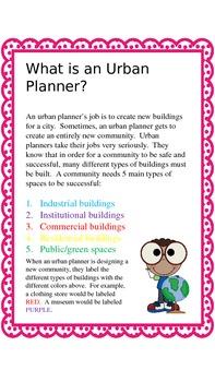 Mission:  Urban Planner