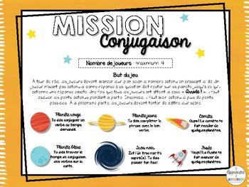 Mission conjugaison