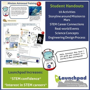 Mission to Mars: 10 Engineering STEM Activities (K - 5)