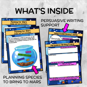Mission to Mars: Build an Ecosystem (Persuasive Writing)