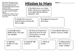 Mission to Mars L16 Mid-Point Assessment (Standard Tier)