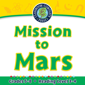 Mission to Mars - MAC Gr. 5-8