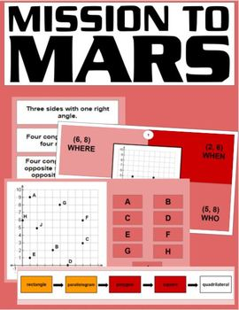 Mission to Mars Mix-up Digital Breakout (Geometry)