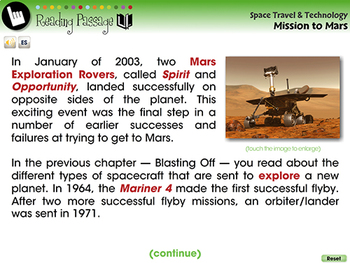Mission to Mars - NOTEBOOK Gr. 5-8