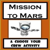 Psychology - Middle School - Mission to Mars - Personality Characteristics