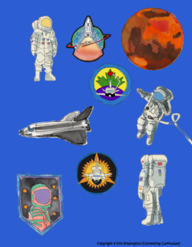 Mission to Mars Topic CLIPART