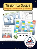 Multiplying Fractions by Whole Numbers:Mission to Space