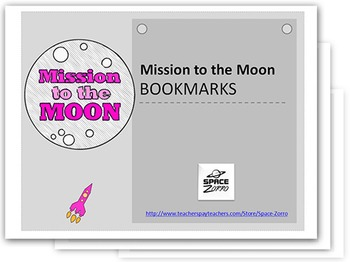 Mission to the Moon BOOKMARKS