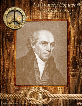 Missionary Copywork: William Carey