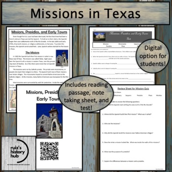 Missions in Texas Unit