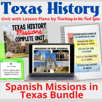 Spanish Missions of Texas Bundle