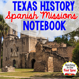 Spanish Missions of Texas Notebook Kit