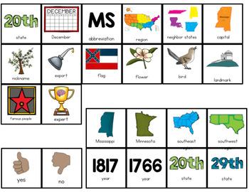 Mississippi Adapted Books (Level 1 and Level 2)   Mississippi State Symbols