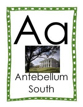 Mississippi Alphabet