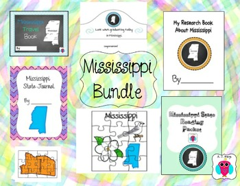 Mississippi Bundle- 7 Resources
