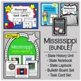 Mississippi Bundle. History Unit. Bulletin Board. Notebook