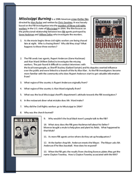 Mississippi Burning Movie Guide
