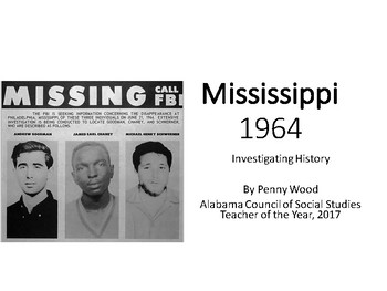 Mississippi Civil Rights Workers 1964 - Investigating History