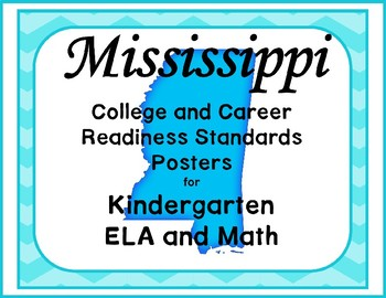 Mississippi College and Career Readiness Standards Posters