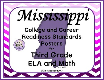 Mississippi College and Career Readiness Standards for 3rd Grade ELA