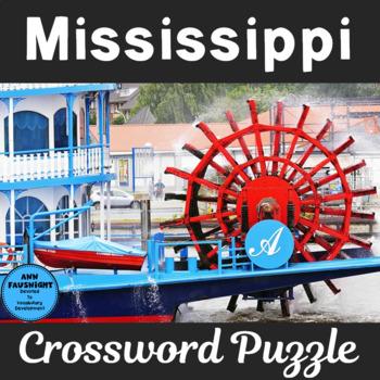 Mississippi Crossword Puzzle