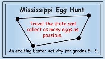 Mississippi Easter Math Activity