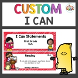Mississippi First Grade I Can Statements