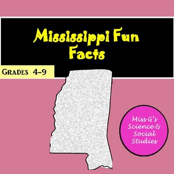 Mississippi Fun Facts