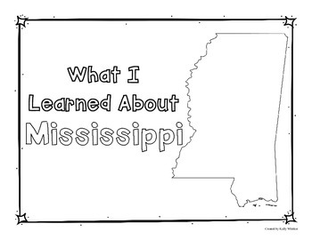 Mississippi Graphic Organizers (Perfect for KWL charts and geography!)