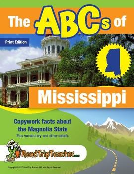 Mississippi Handwriting Printables - Print Edition