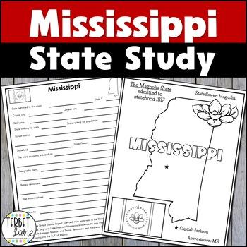 Mississippi History and Symbols Unit Study