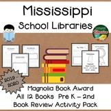 Mississippi Magnolia Book Award Pre K - 2nd Grade 2019 - 2020  Book Review Pack