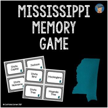 Mississippi Memory Game
