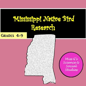 Mississippi Native Bird Research