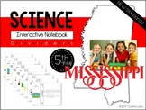 Mississippi Science 5th Grade Interactive Notebook Divider