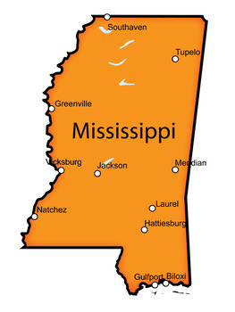 Mississippi Word Search