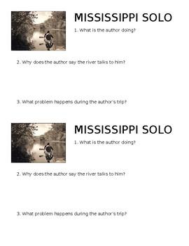 Mississippi Solo Mini-Quiz