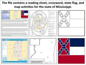 Mississippi - State Activity Set