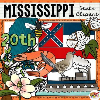 Mississippi State Clip Art