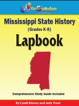 Mississippi State History Lapbook
