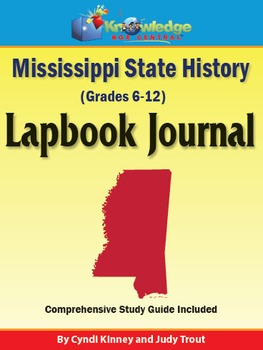 Mississippi State History Lapbook Journal