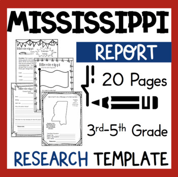 Mississippi State Research Report Project Template *bonus